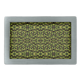 Camouflage in the Third! (jungle green) ~ Rectangular Belt Buckle