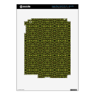 Camouflage in the Third! (jungle green) ~ Skin For iPad 3