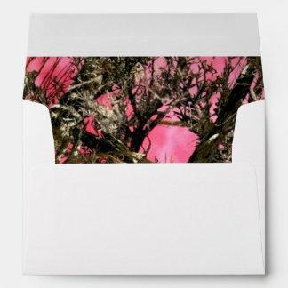 Camouflage Invitation Envelope