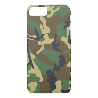 Camouflage iPhone 7 Barely There™ iPhone 7 Case