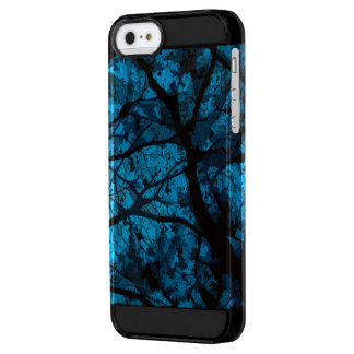 Camouflage Iphone marries (blue version) Clear iPhone SE/5/5s Case