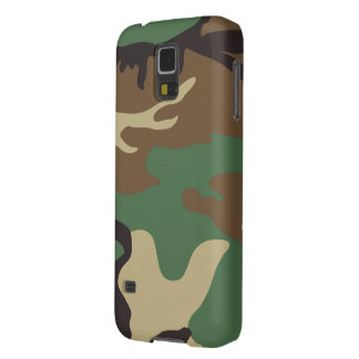 Camouflage Jackson Pattern Print Case For Galaxy S5