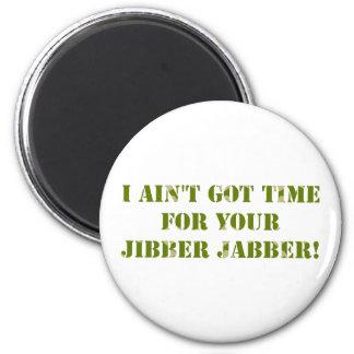 Camouflage Jibber Jabber Magnet