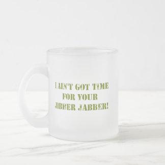 Camouflage Jibber Jabber Mug