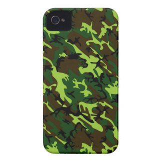 Camouflage (jungle green) ~ iPhone 4 covers