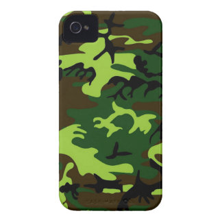 Camouflage (jungle green) ~ Case-Mate iPhone 4 case