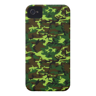 Camouflage (jungle green) ~ iPhone 4 Case-Mate case