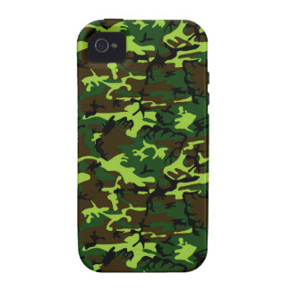 Camouflage (jungle green) ~ vibe iPhone 4 covers