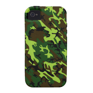 Camouflage (jungle green) ~ iPhone 4/4S case