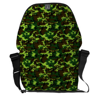 Camouflage (jungle green) ~ courier bags