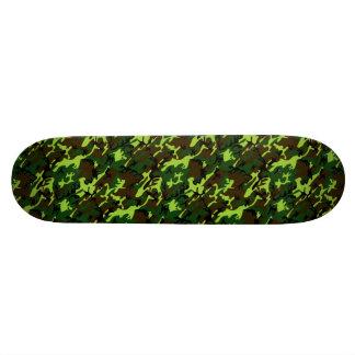 Camouflage (jungle green) ~ ~ skateboard deck