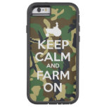 Camouflage Keep Calm and Farm On Tough Xtreme iPhone 6 Case