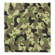 Camouflage Khaki Camo Bandana at Zazzle