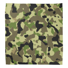 Camouflage Khaki Camo Bandana at Zazzle