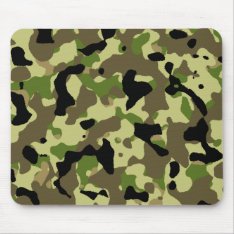 Camouflage Khaki Commando Camo Game Mousepad at Zazzle