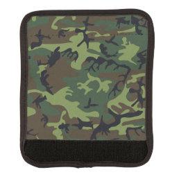 Camouflage Luggage Handle Wrap