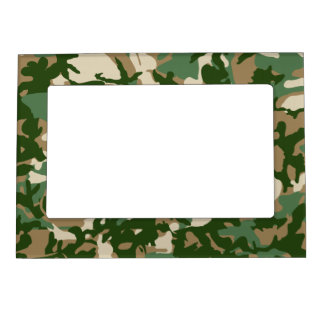 Camouflage Magnetic Frame