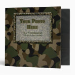 Camouflage Military 2 inch Binder