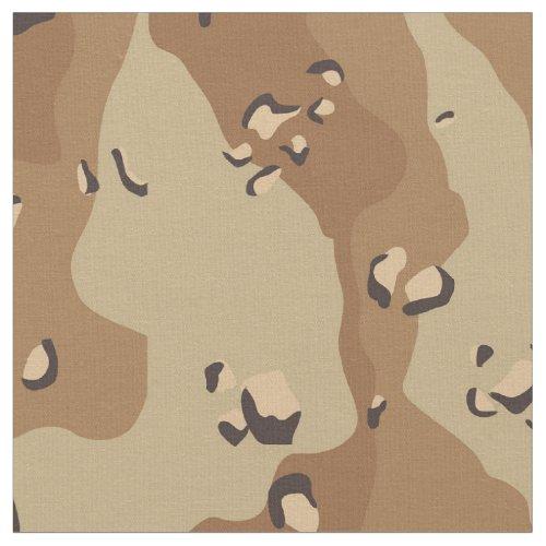 Camouflage Military Desert Fabric