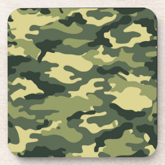Camouflage Military Hunter Coaster