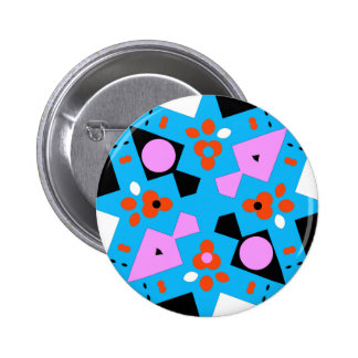CAMOUFLAGE - MODERN ABSTRACT COLORFUL X DIAMOND BUTTON
