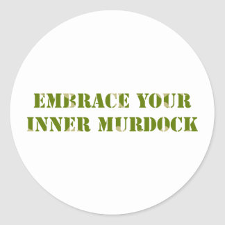 Camouflage Murdock Stickers