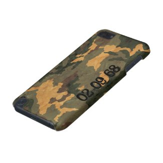 Camouflage Muster iPod Touch (5th Generation) Cover
