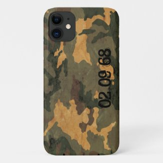 Camouflage Muster iPhone 11 Case