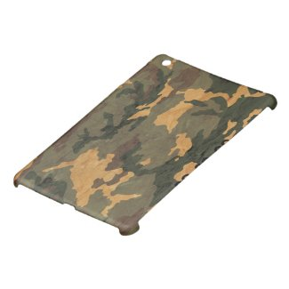 Camouflage Muster iPad Mini Case