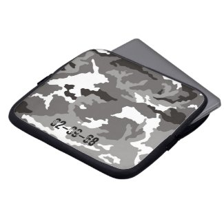 Camouflage Muster Laptop Computer Sleeves