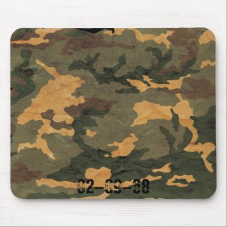 Camouflage Muster Mouse Pads
