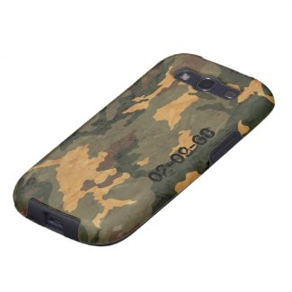 Camouflage Muster Samsung Galaxy SIII Cases
