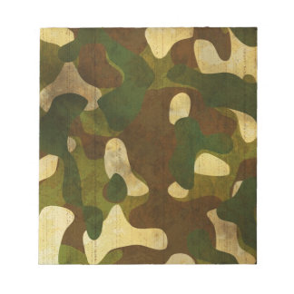 Camouflage Notepads
