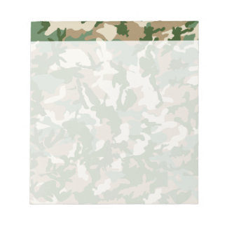 Camouflage Notepad