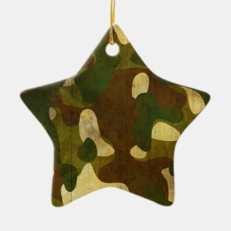 Camouflage Christmas Tree Ornament