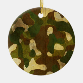 Camouflage Christmas Ornaments