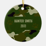 Camouflage Ornaments