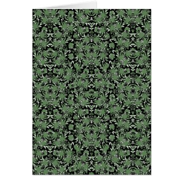 Camouflage Ornate Pattern Card