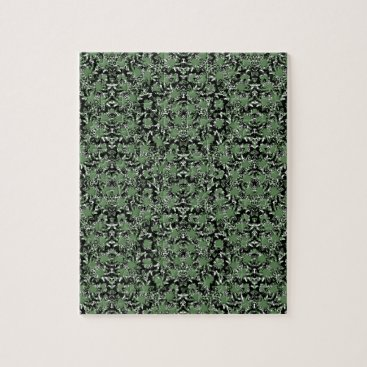 Camouflage Ornate Pattern Jigsaw Puzzle