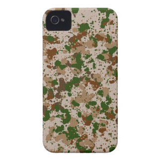 Camouflage Paint Splatter Cool iPhone Case