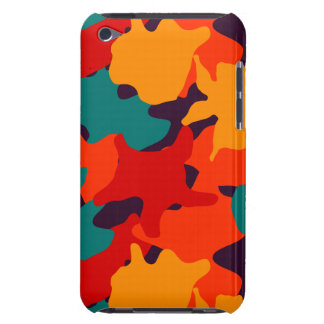 Camouflage pattern barely there iPod cover