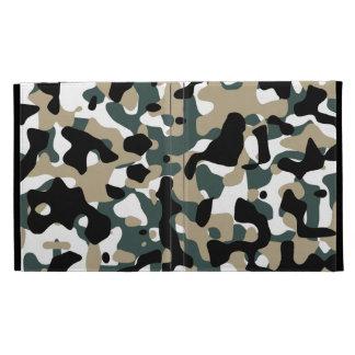 Camouflage Pattern iPad Folio Case