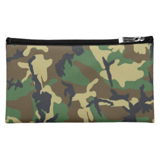 Camouflage Pattern Cosmetic Bag
