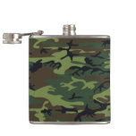 Camouflage Pattern Flask