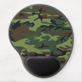 Camouflage Pattern Gel Mouse Mats