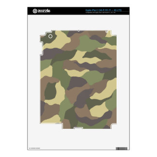 Camouflage Pattern iPad 3 (Wi-Fi/Wi-Fi + 4G LTE) Z iPad 3 Decal