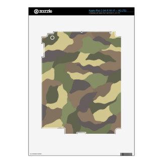 Camouflage Pattern iPad 3 (Wi-Fi/Wi-Fi + 4G LTE) Z iPad 3 Skin