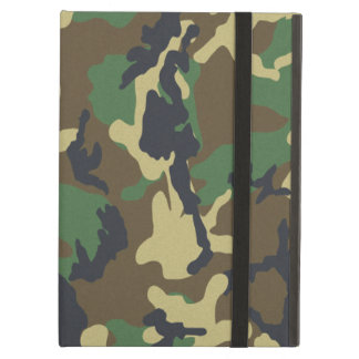 Camouflage Pattern iPad Covers