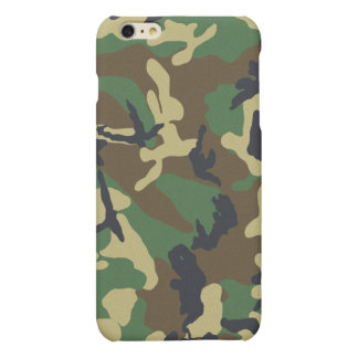 Camouflage Pattern Matte iPhone 6 Plus Case