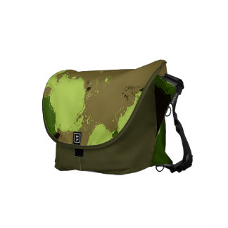 Camouflage Pattern Commuter Bag